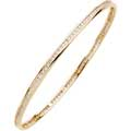Channel Set, DIamond Eternity Style Bangle Bracelet
